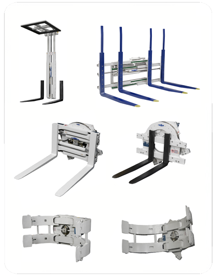 Clamp Truck Control Levers : Purpose of forklift attachments purposeof