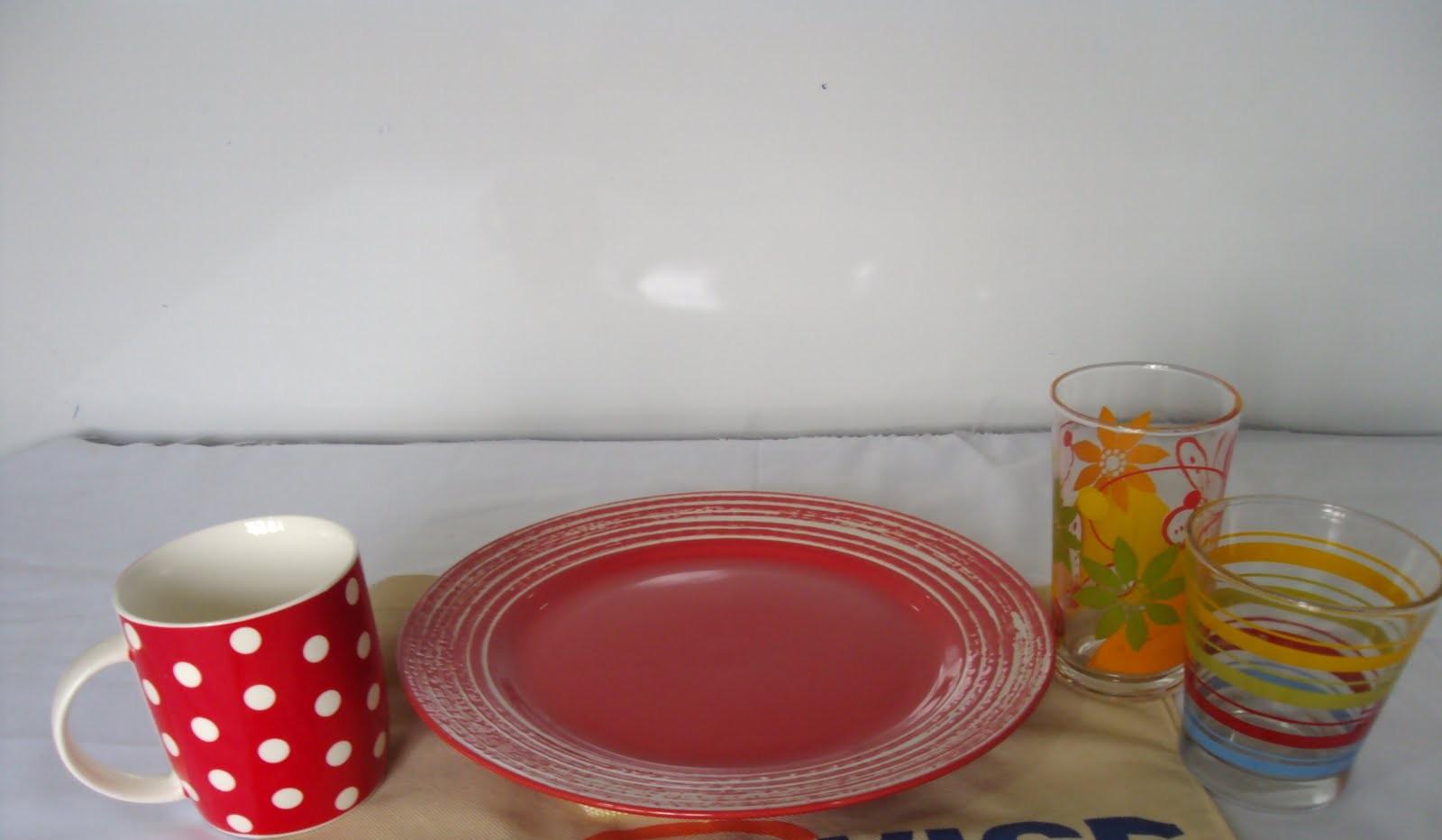 Mugs, Plates and Glasses