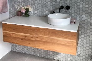 Purposeful Bathroom Makeover with Vanity Units