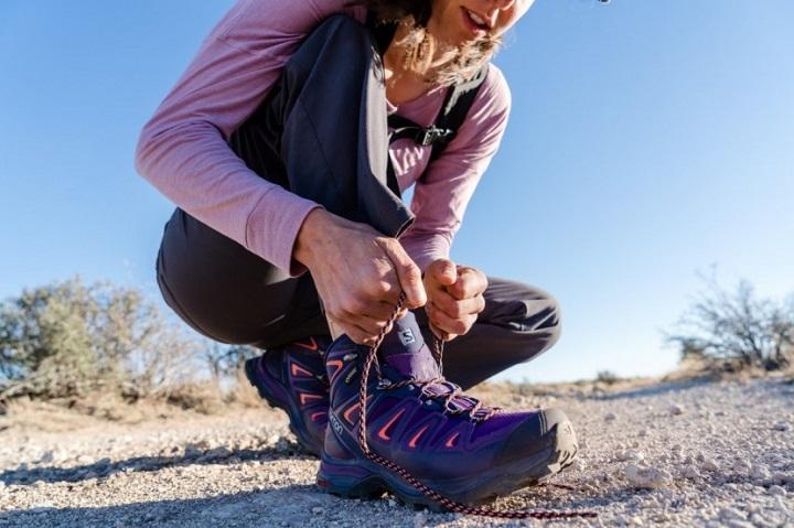 women hiking footwear
