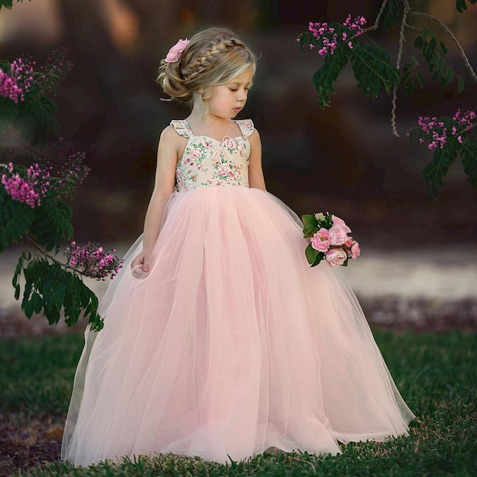 little girl wedding dress