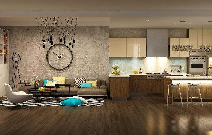 interior-clock-design-modern home decor