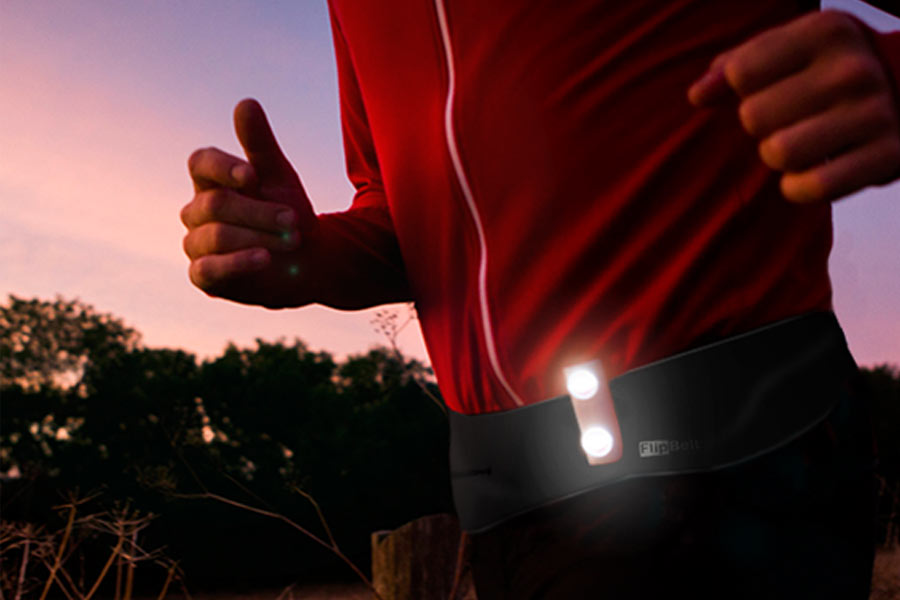 flashlight for running