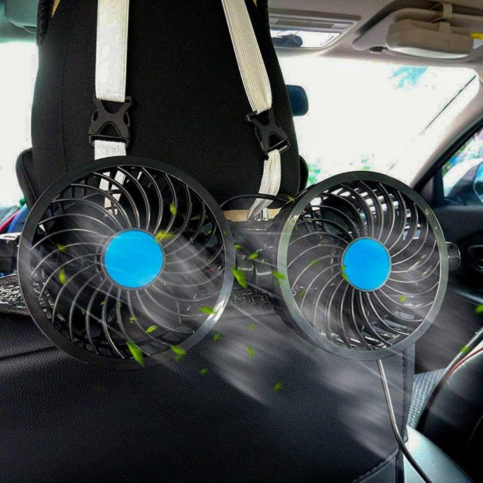 A 12V Portable Fan Caravan Accessories