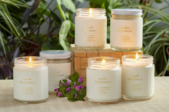 decorative soy candles