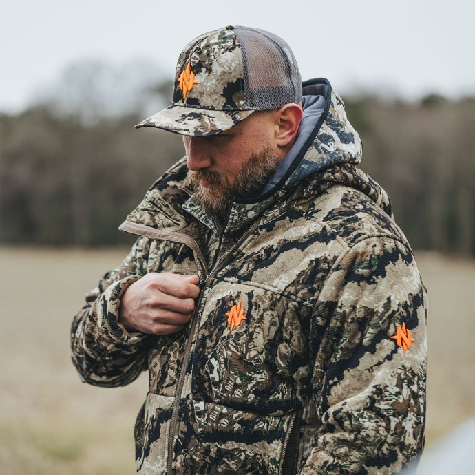 High-performance insulated hunting clothing