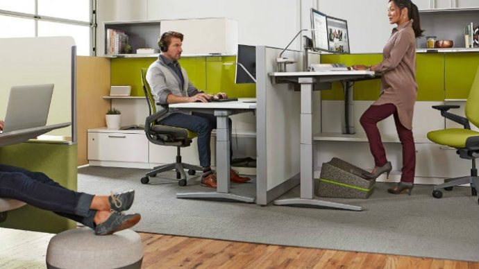 stand up sit down desk