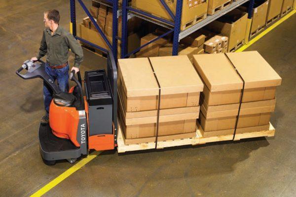 electric pallet jack lift equipment warehouse