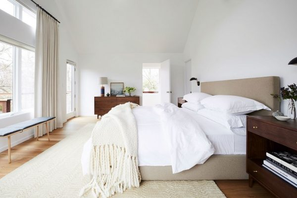 comfortable and stylish bed