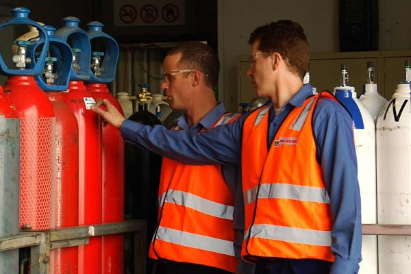 gas cylinders safety training